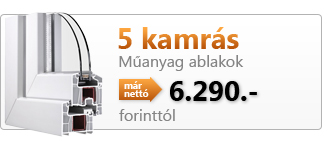5 KAMR&Aacute;S MANYAG ABLAK